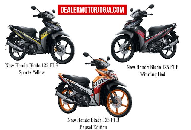 Spesifikasi Lengkap Honda Blade 125 FI