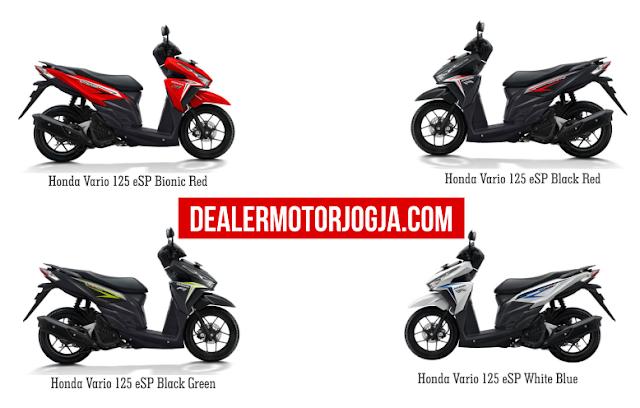 Spesifikasi Lengkap Honda Vario 125 eSP