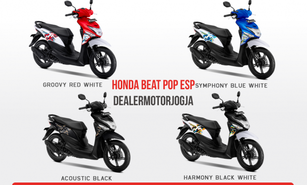 Honda Beat Pop Jogja