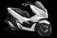 Honda PCX Wonderful White