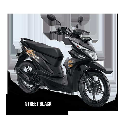 Honda BeAT Street eSP Black
