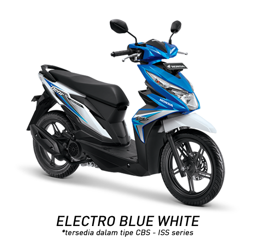 Honda BeAT eSP Elektro Blue White