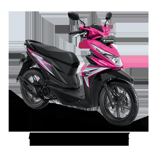 Honda BeAT eSP Fusion Magenta Black