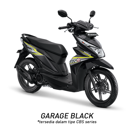 Honda BeAT eSP Garage Black